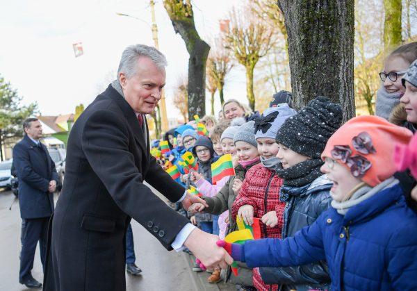 LR Prezidentas Gitanas Nausėda dirbo Kazlų Rūdoje
