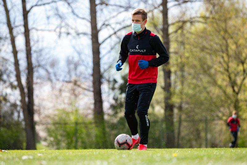 FK Sūduva treniruotė