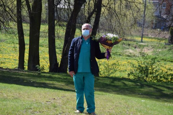 Vilkaviškyje padėkota medikams