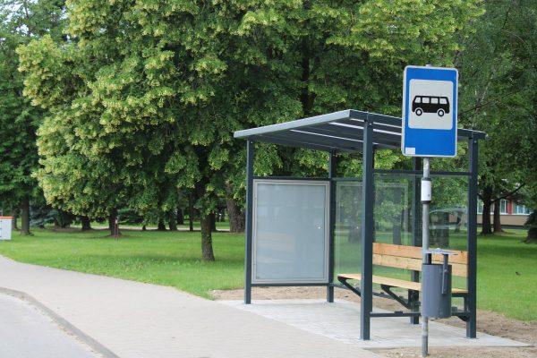 viešojo transporto laukimo paviljonas Marijampolė