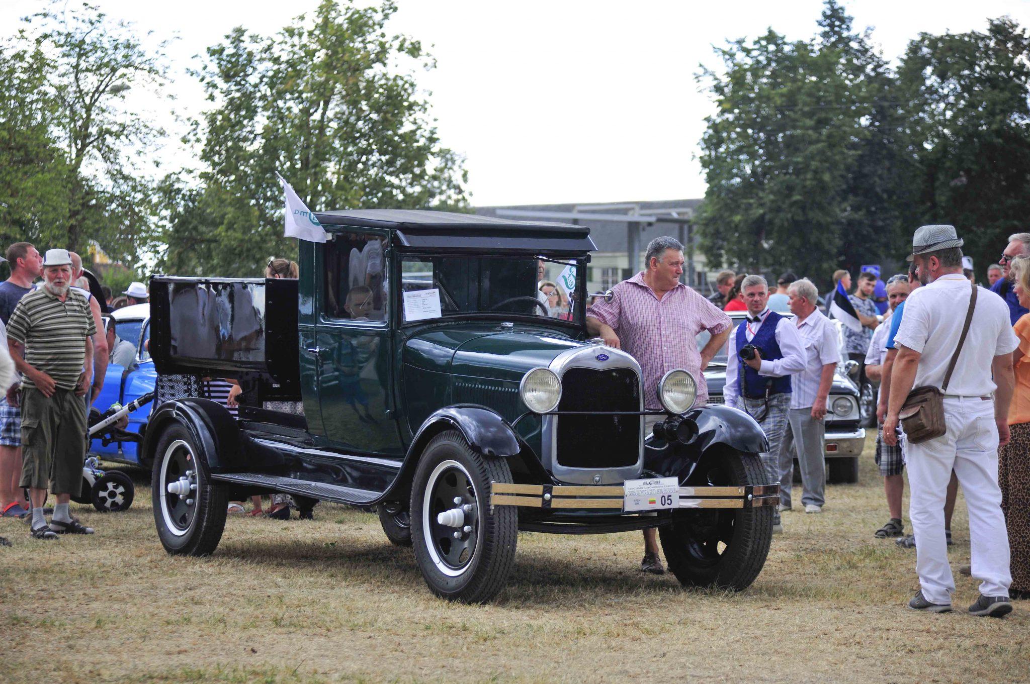 1922 m. sunkvežimiukas Ford AA. Ilonos Daubaraitės nuotrauka