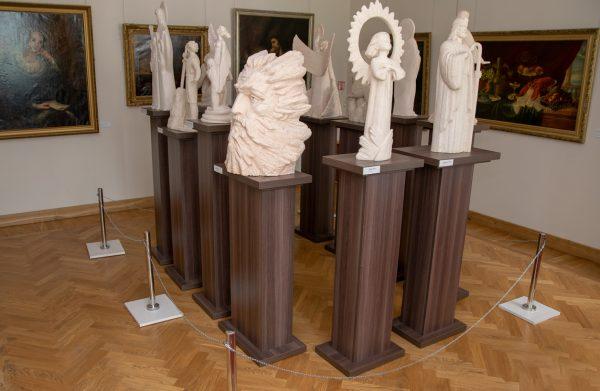 Oleksijaus Leonovo skulptūrų paroda Dvasios keliais