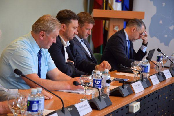 Marijampolės regiono plėtros tarybos posėdis