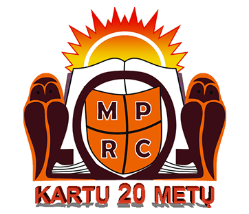 profesinio rengimo logo 20 metų
