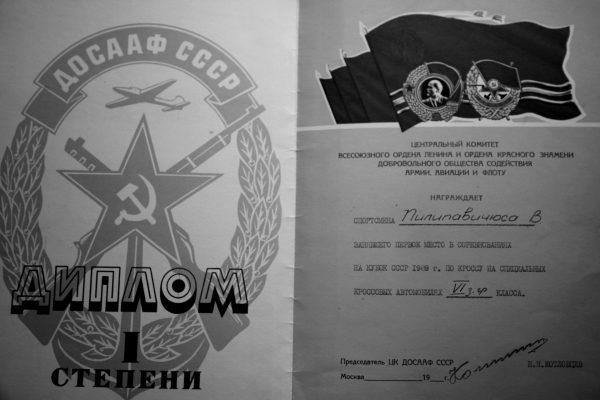 Vytauto Pilipavičiaus iškovoti diplomai