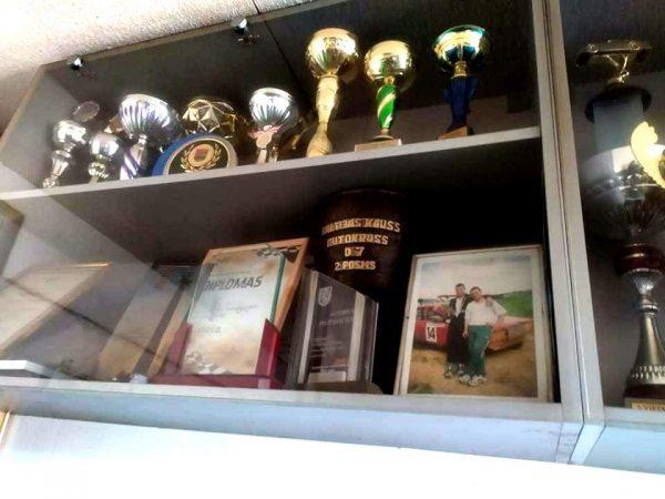 Pilipavičių trofėjai laimėti įvairiose varžybose