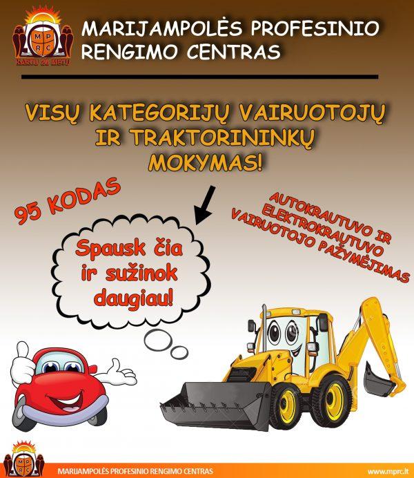 MPRC Vairuotojų kursai