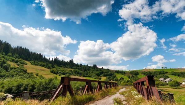 Karpatų kalnų papėdėje