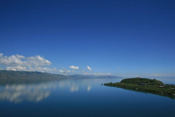 Sevano ežero didybė