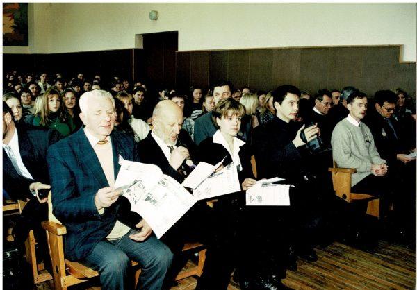 Konferencijos dalyviai (1999 m.)