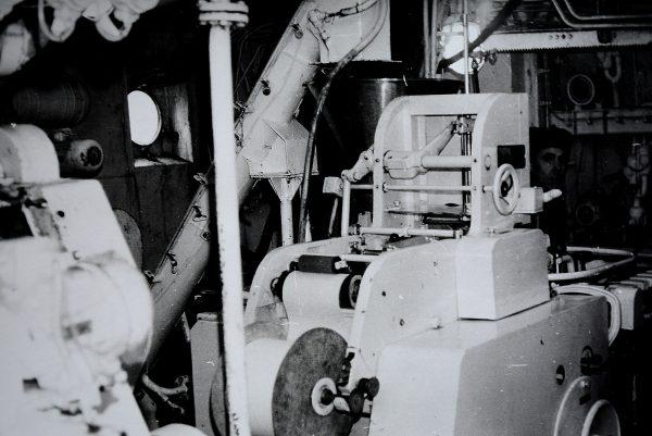 Fasavimo-pakavimo automatas M6-IFA laive