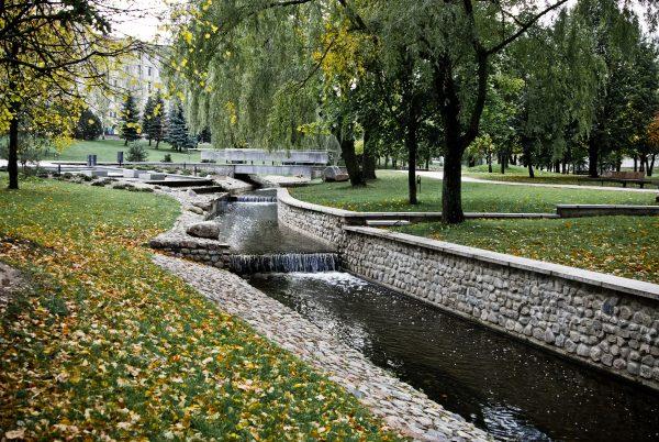 Javonio upelis poezijos parke