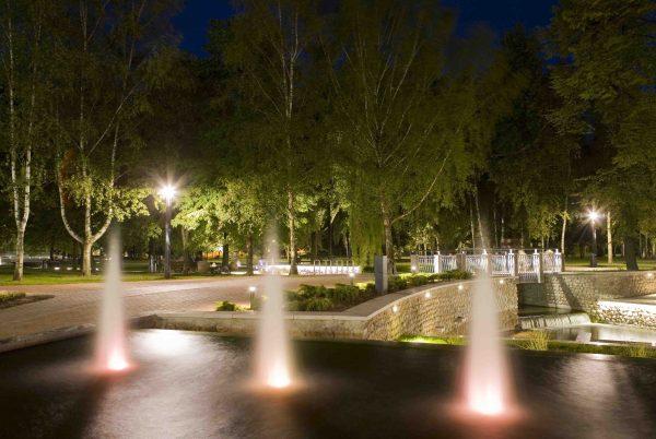 Poezijos parko Marijampolėje fragmentas