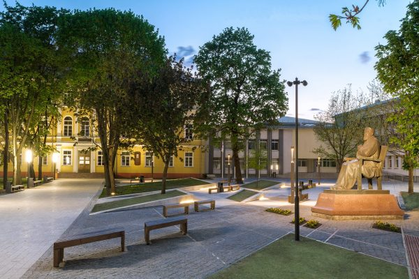 Rygiškių Jono gimnazijos parkas