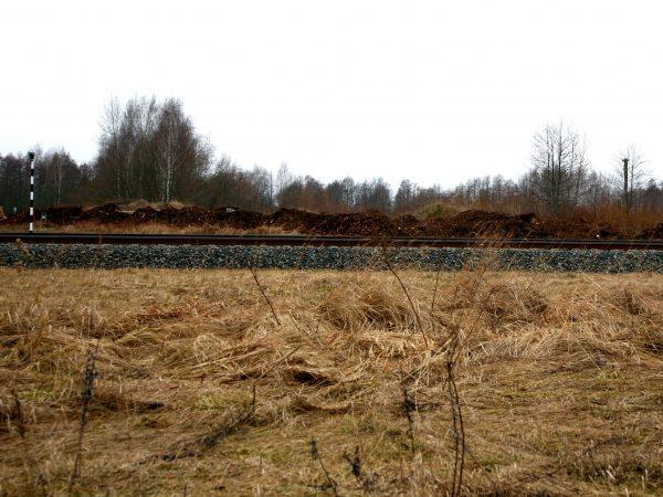 Sąvartynas prie magistralės Rail Baltica
