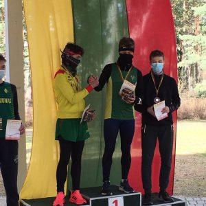 Airidas Bendaravičius 2 vieta 4km