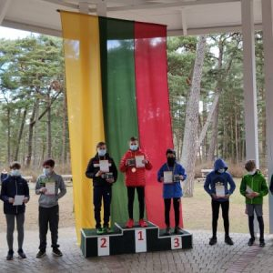 Airidas Simanavičius 1 vieta 1km