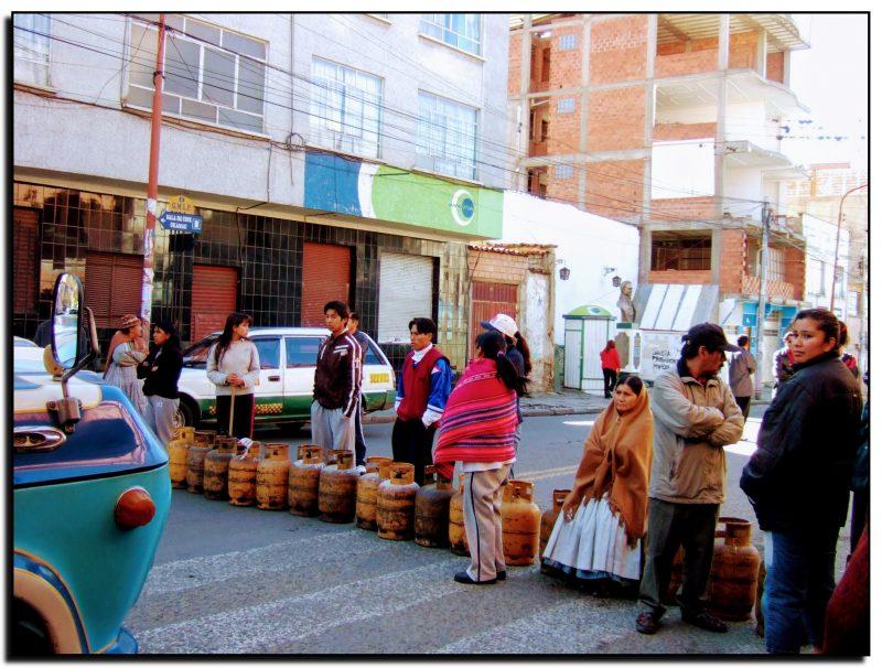 Bolivija La Pasas