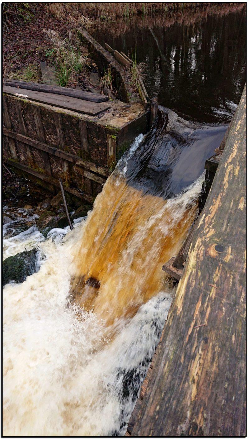 Štadviliai, Šlyninkos vandens malūnas