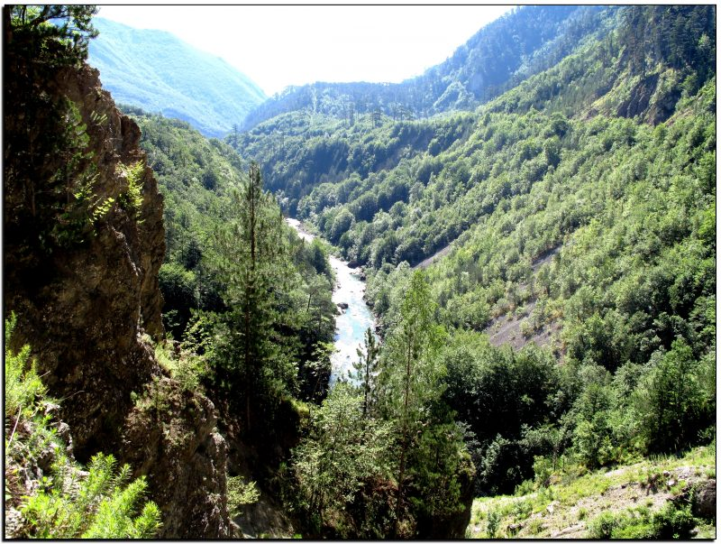 Juodkalnija, Taros kanjonas