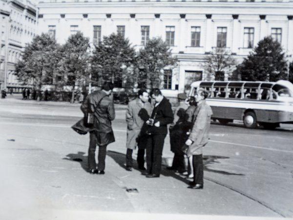 Ekskursija Leningrade (dab. Sankt Peterburgas) 1969 m.