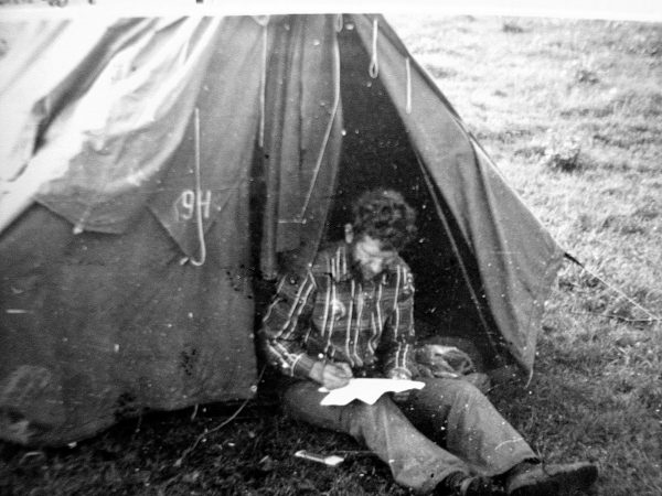 E. Valenta – žūklės varžybų vyr. teisėjas. 1979 m. Nemunas prie Šilutės
