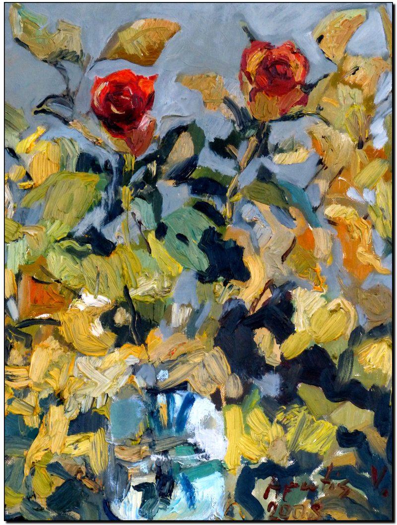 """Dovana žmonai – paveikslas """"Rožė"""""""