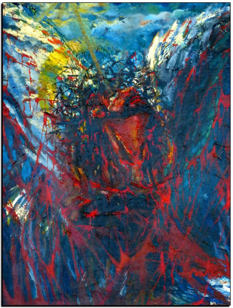 """""""Sušaudyta dvasia"""" paveikslas tapytas Sausio 13-ąjai paminėti"""