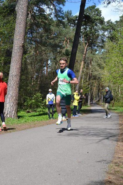 Paulius Bieliūnas, 10km, 1 vieta
