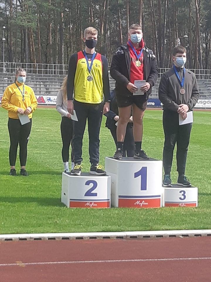 Titas Eidukevičius, 2 vieta