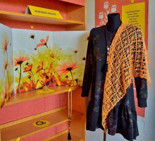 Virginijos Stanulienės darbų paroda Mamiškos kūrybos paletė