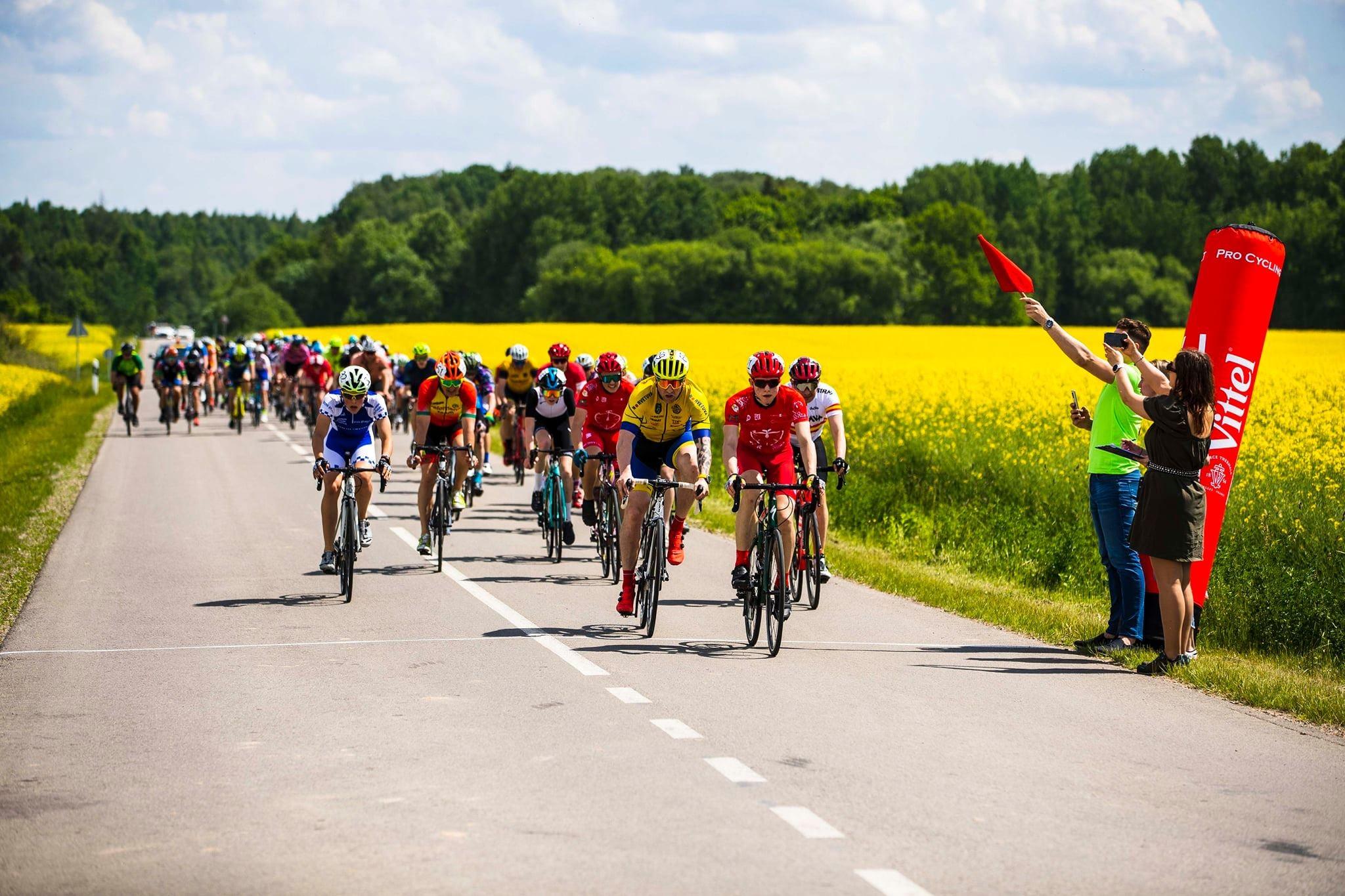 Daugiadienės dviračių lenktynės Plokščiuos