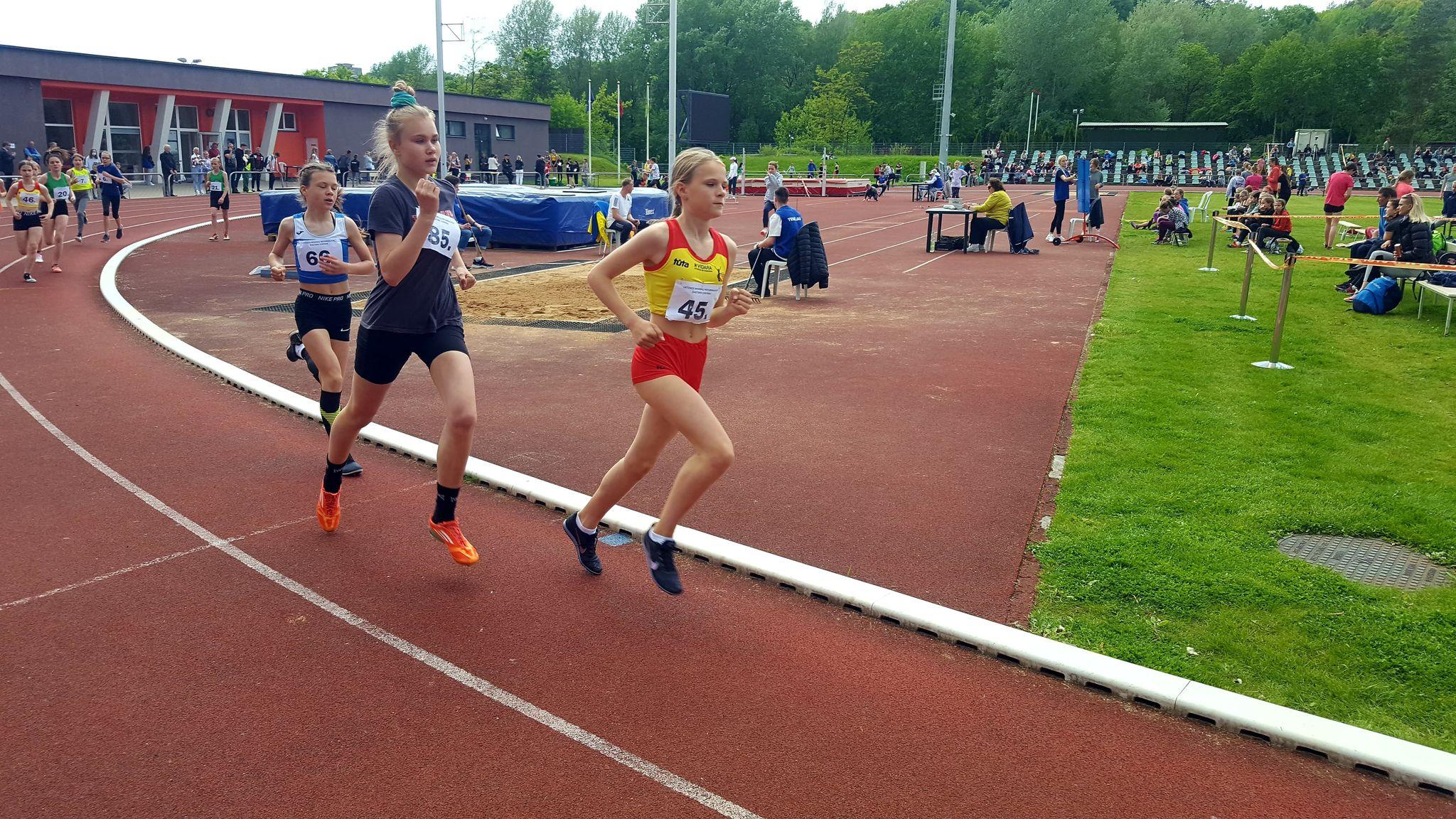 Andrėja Zigmantaitė, 1000 m. bėgimas, 3 vieta