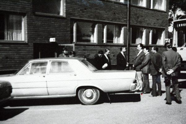 1973 m. Kokoloje. Čia buvo apgyvendintas MPAG pučiamųjų orkestras