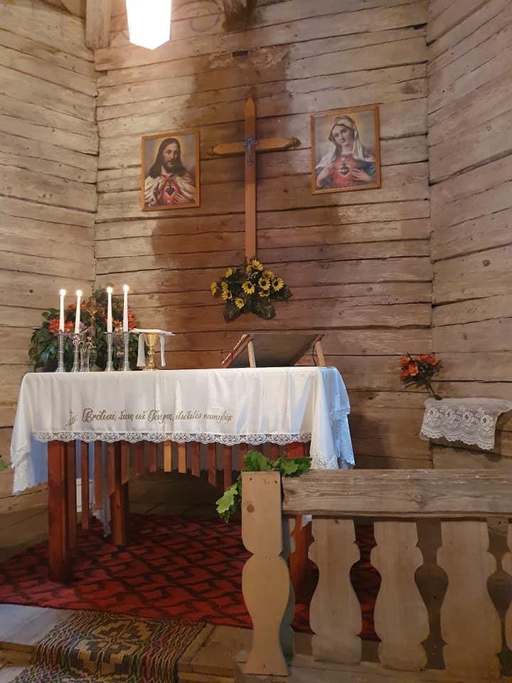 Gedulo ir vilties diena paminėta Staliorių koplyčioje