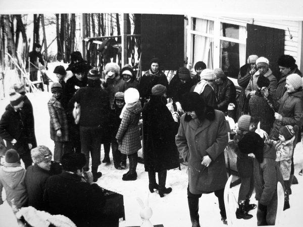 Žiemos palydos Vištytyje 1980 m. kovo mėn.