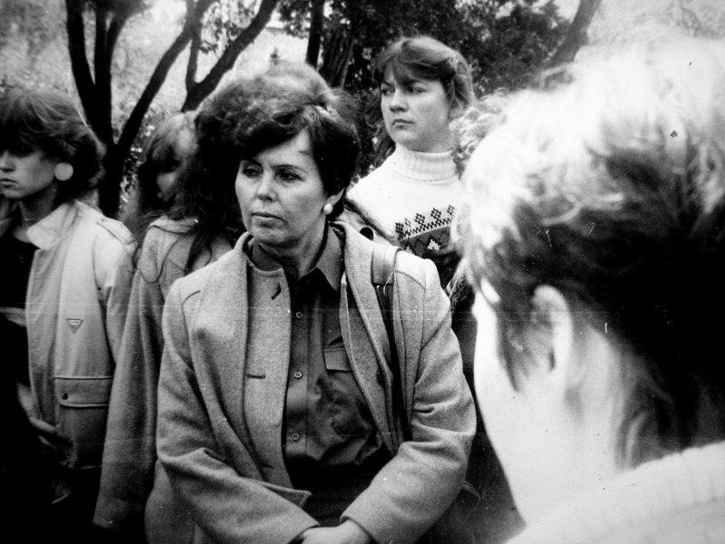 Ekskursijoje Azerbaidžane 1987 balandžio mėn. Baku apylinkėse