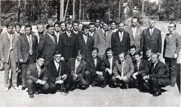 Kapsukiečių delegacija 1973 m. Suomijoje Kokolos mieste