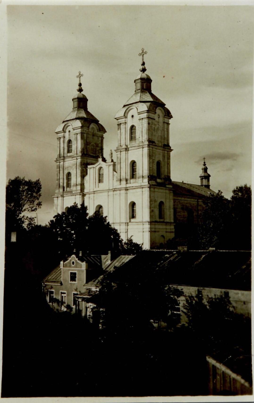Kudirkos Naumiesčio bažnyčios bokštai XX a. 2-3 deš.