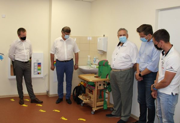 Marijampolės ligoninė sensorinis kambarys vaikų reabilitacija