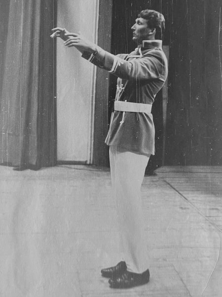Orkestro vadovas R. Bernota 1970 m.