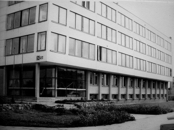 Inžinerinis-laboratorinis korpusas 1985 m.