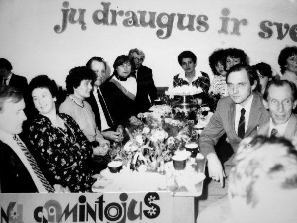 1987 m. rugsėjo mėn. 30 d. švenčiame Mašinų gamintojo dieną. Dalyvauja ir šeimos nariai