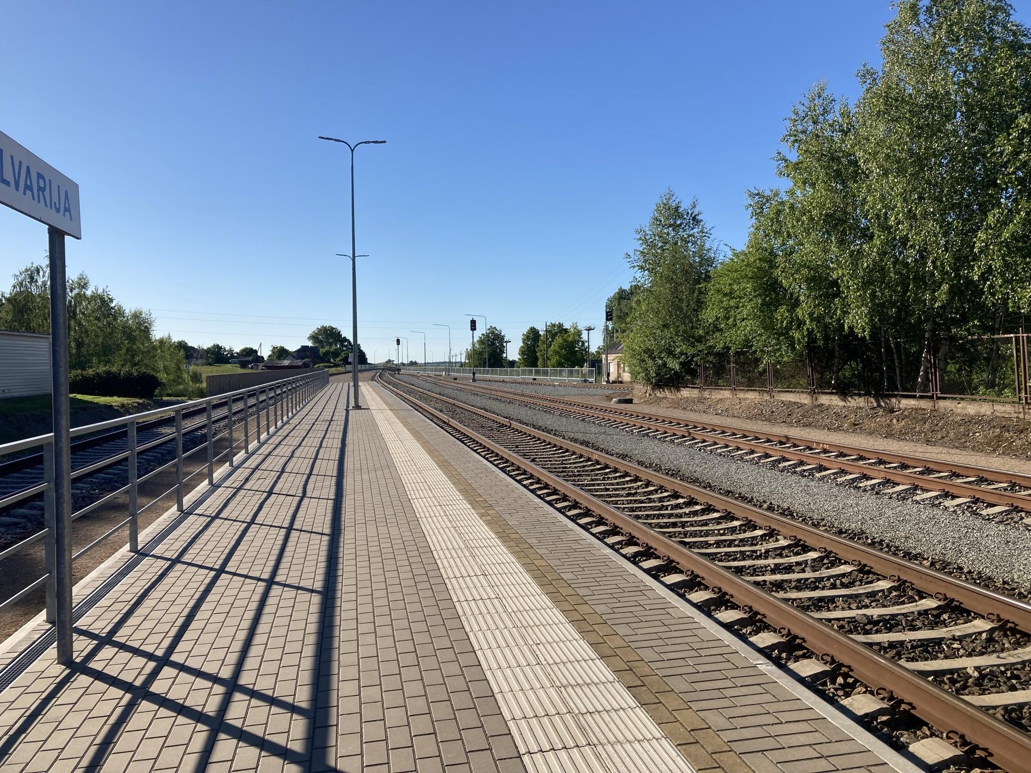 Kalvarijos geležinkelio stotis Jungėnuose