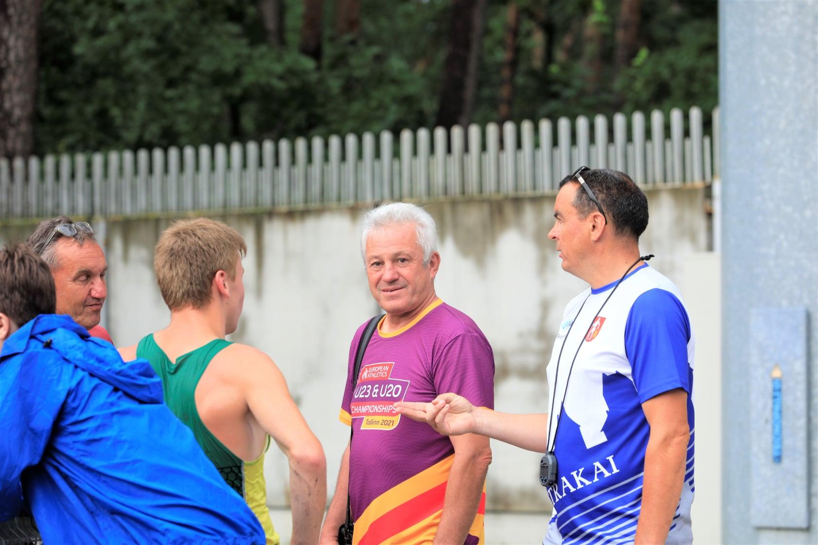 Treneris Vladas Komisaraitis