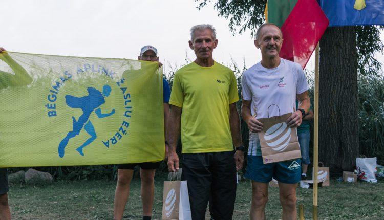 Alvydas Zenkevičius - 1 vieta, V60 grupė