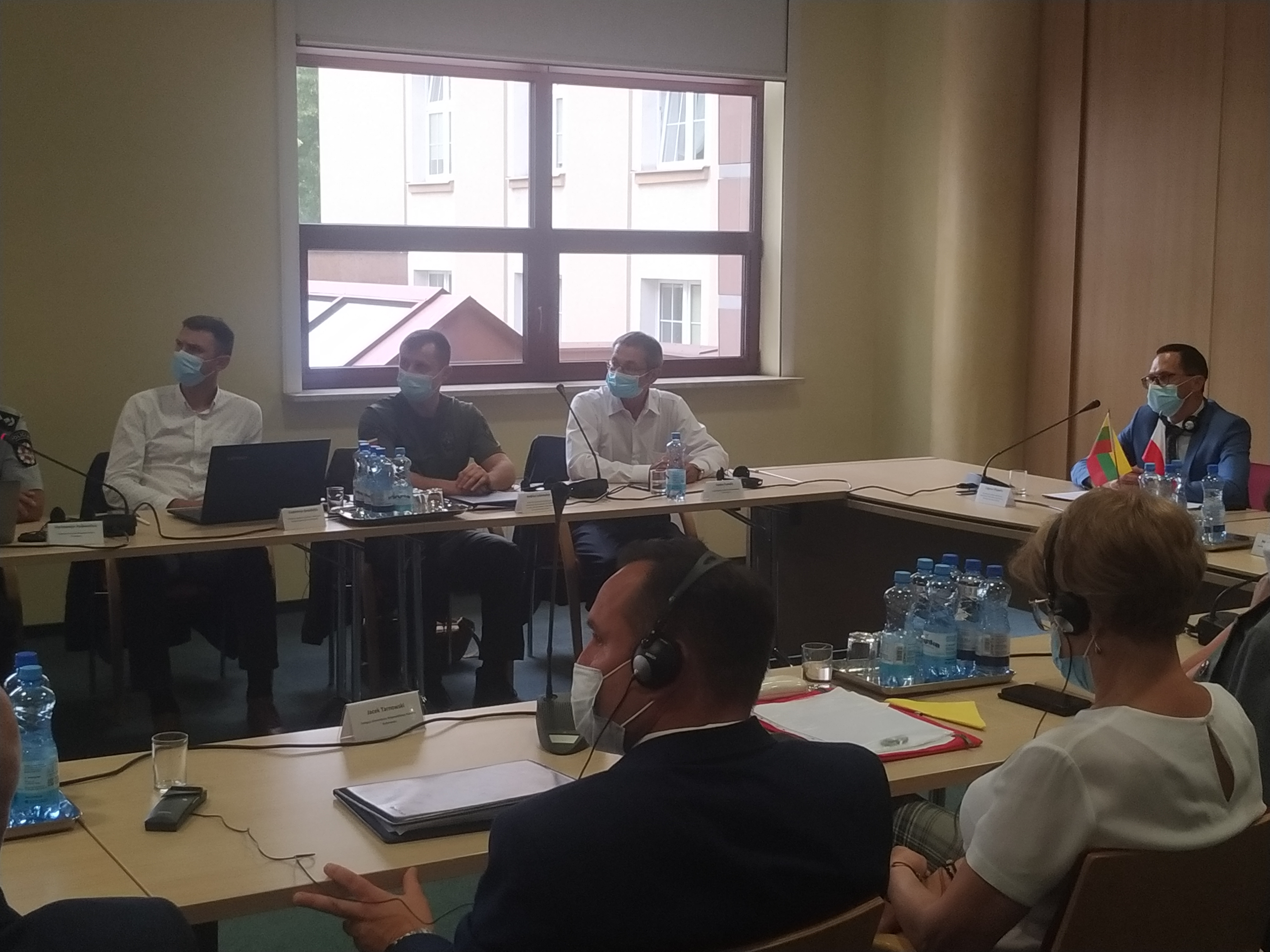 Pasienio bendradarbiavimo darbo grupės posėdis