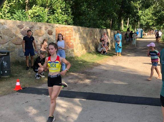 Luknė Šlekytė - 4 vieta, 3 km. bėgimas