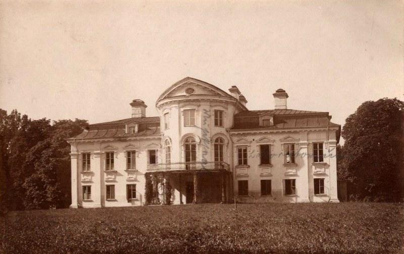 Paežerių rūmai 1916 m.