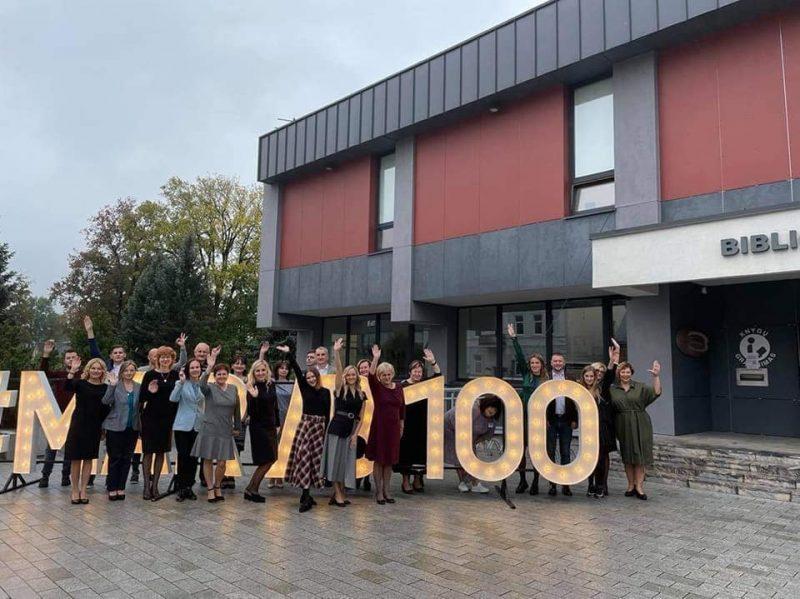 Marijampolės viešosios bibliotekos 100-metis